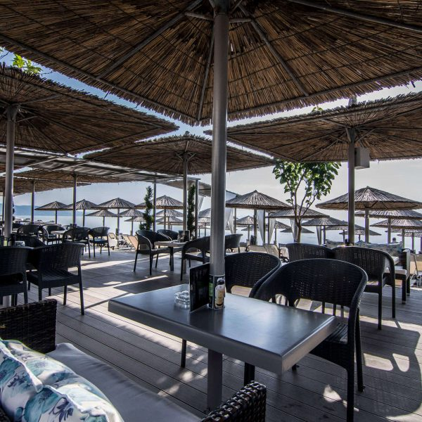 Cafe Electra at Vrasna Beach